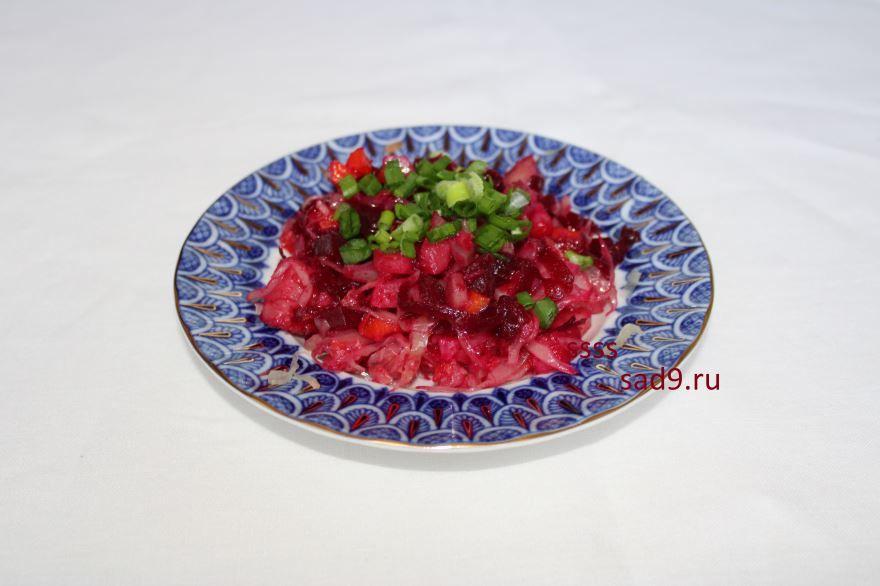 Винегрет классический рецепт и способ приготовления, фото пошагово