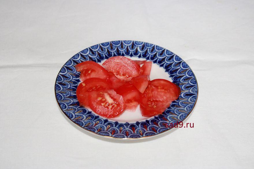 Салат с огурцов и помидор, рецепт