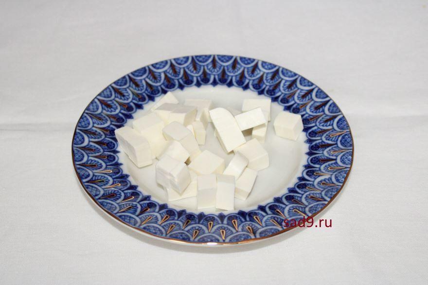Пошаговый рецепт греческого салата с фетаксой