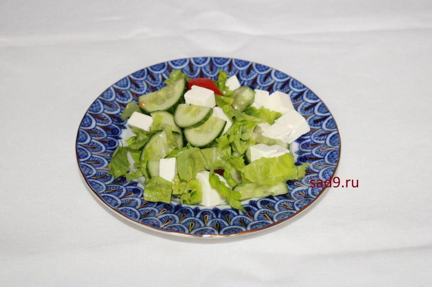 Греческий салат  классический пошагово с фото в домашних условиях
