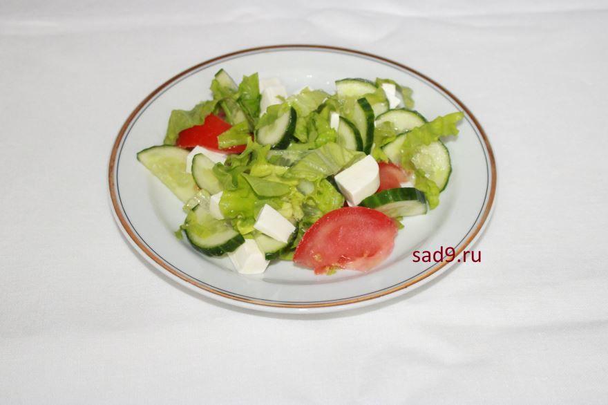Греческий салат, рецепт классический с фото