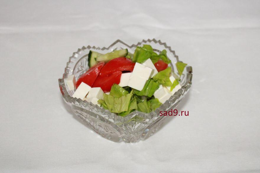 Салат греческий в домашних условиях