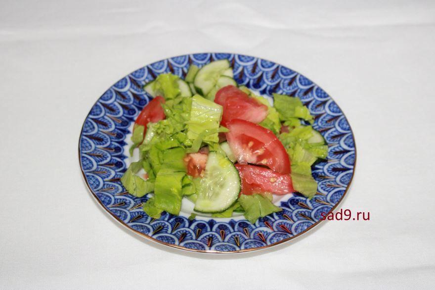 Салат греческий с фото