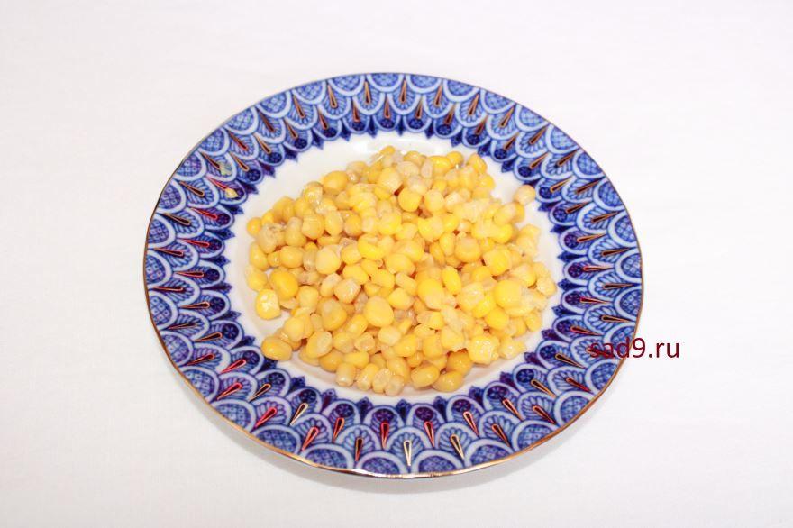 Салат с семгой, рецепт с фото