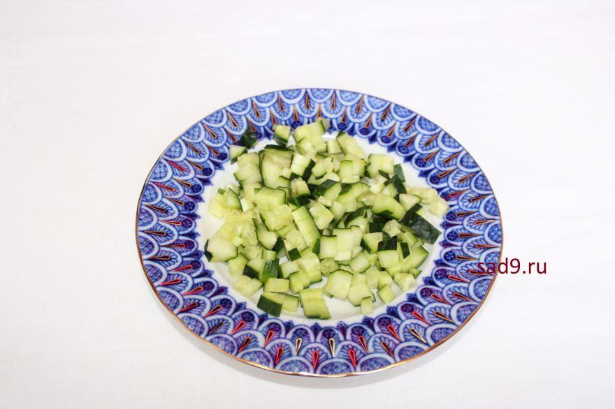 Семга салат, фото