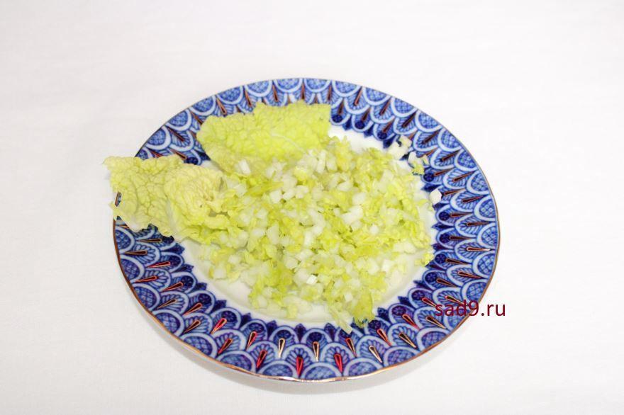Салат с семгой рецепт