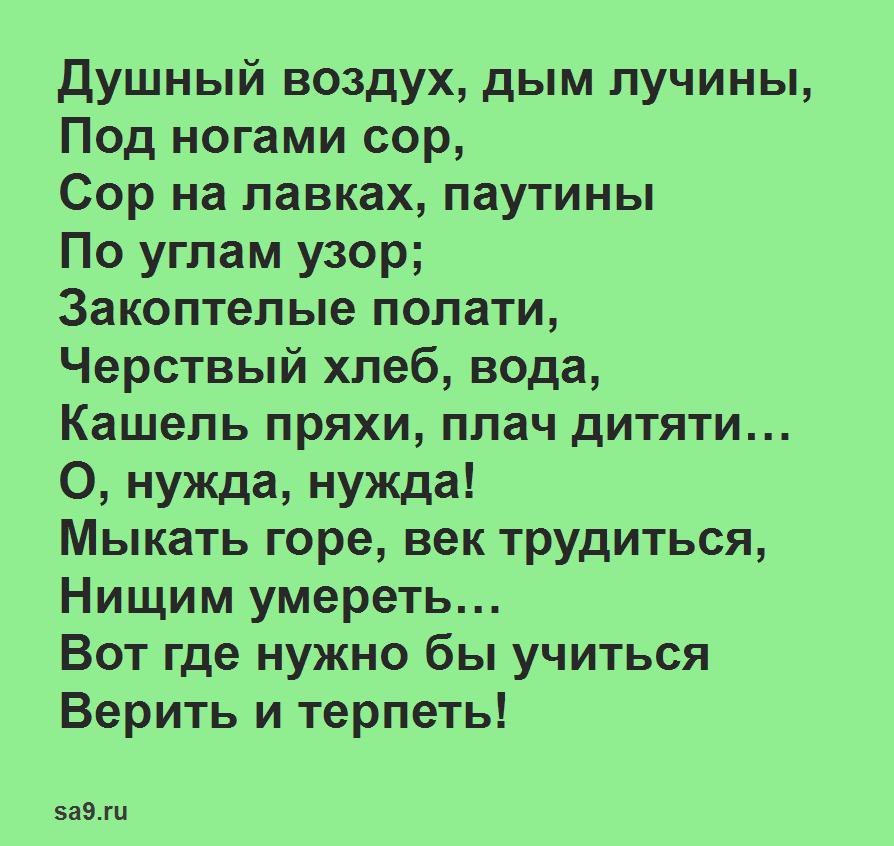 Стихи Никитина - Ночлег в деревне