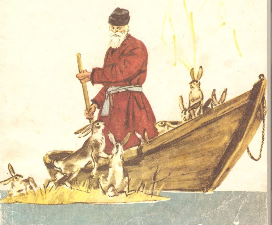 Сказка Дед Мазай и зайцы, Николая Александровича Некрасова