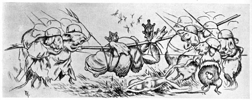 Сказка Война мышей и лягушек, Василий Жуковский