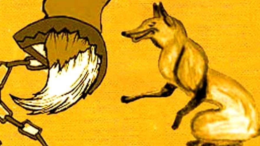 Басня Бесхвостая лисица, Диего Веласкес Эзопа