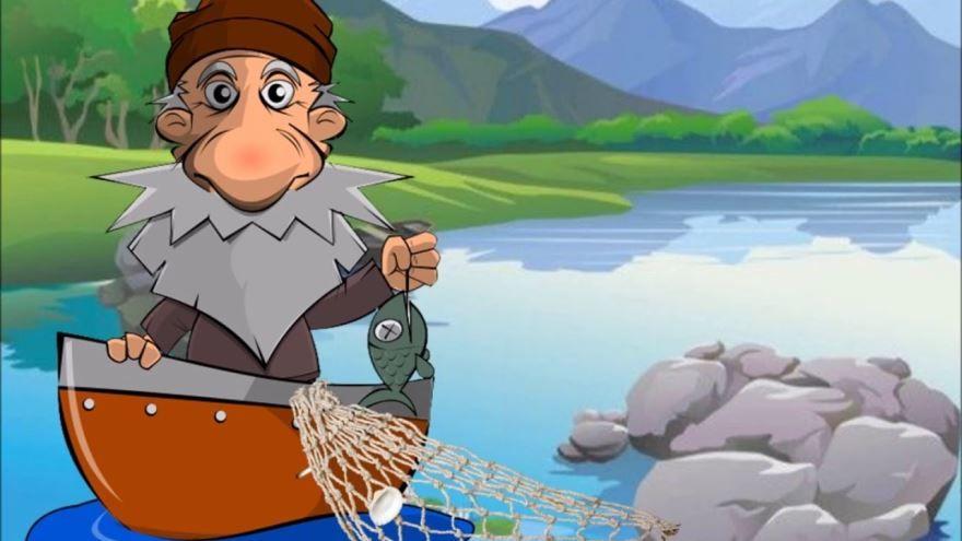 Басня Рыбак и рыбы, Диего Веласкес Эзопа