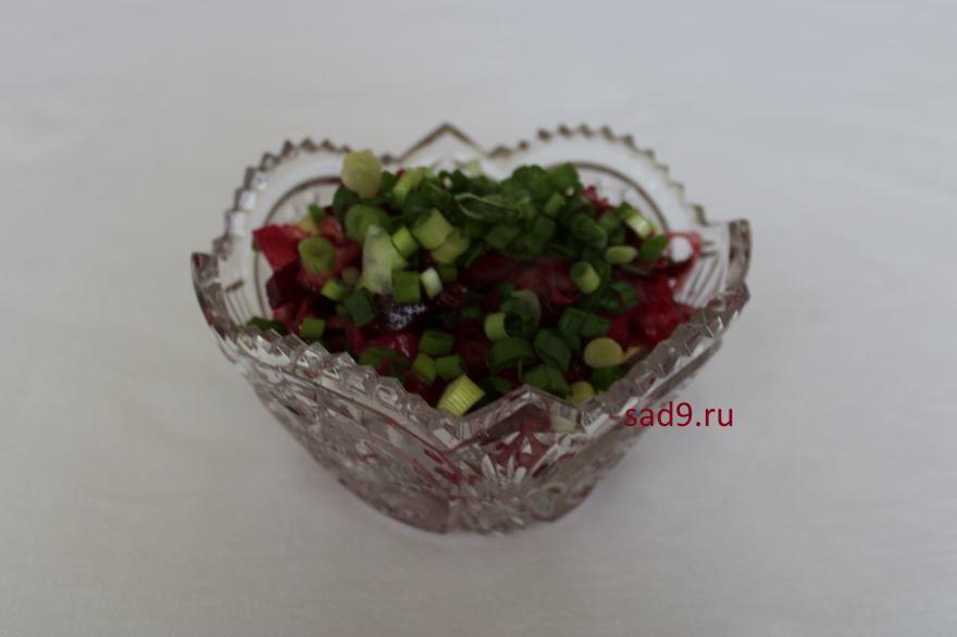 Вкусный салат Винегрет, пошагово с фото