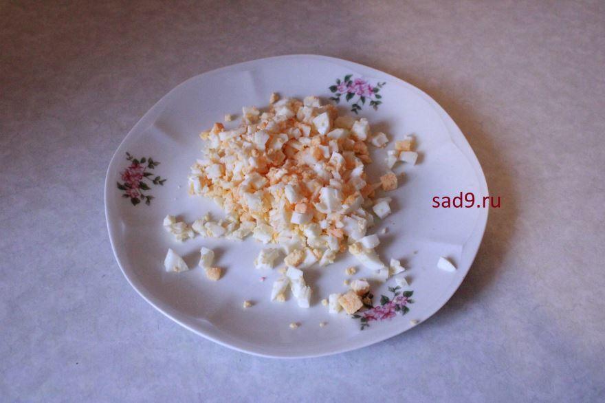 Вкусный салат с курицей пошагово с фото