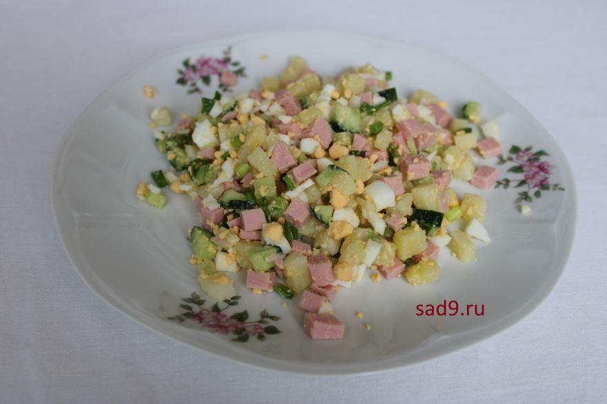 Рецепт и способ приготовления вкусного и простого салата Оливье