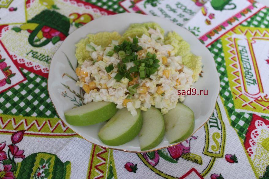 Салат с курицей классический