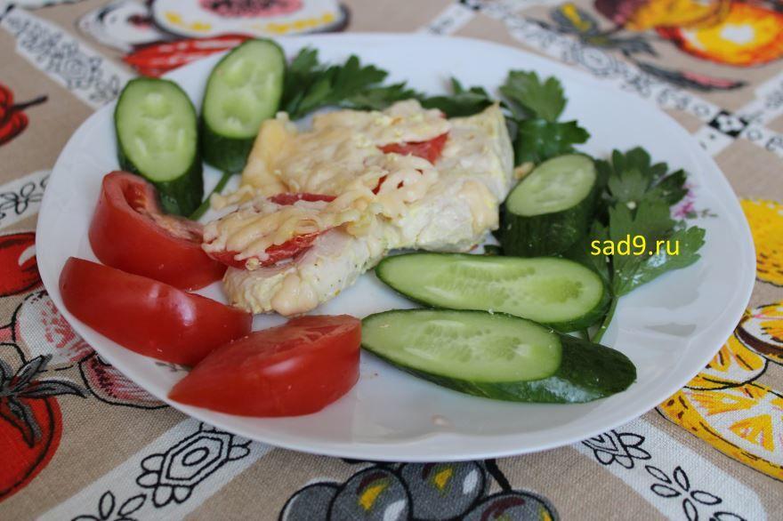 Курица в духовке, рецепт с фото
