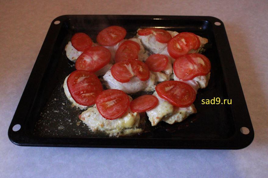 Курица с сыром рецепт с фото пошагово