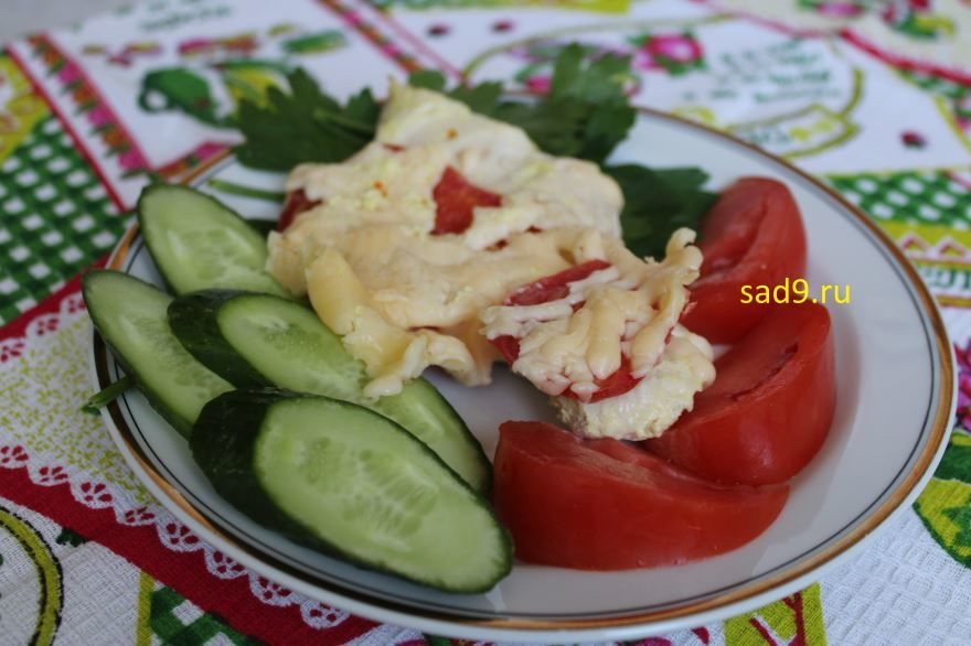 Курица с сыром, вкусный и простой рецепт