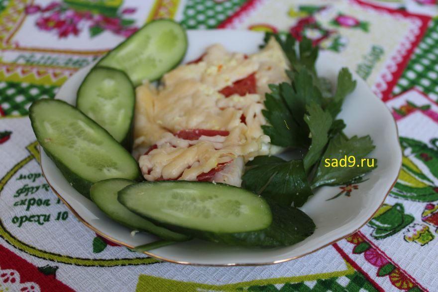 Вкусный рецепт курицы с сыром, с фото пошагово