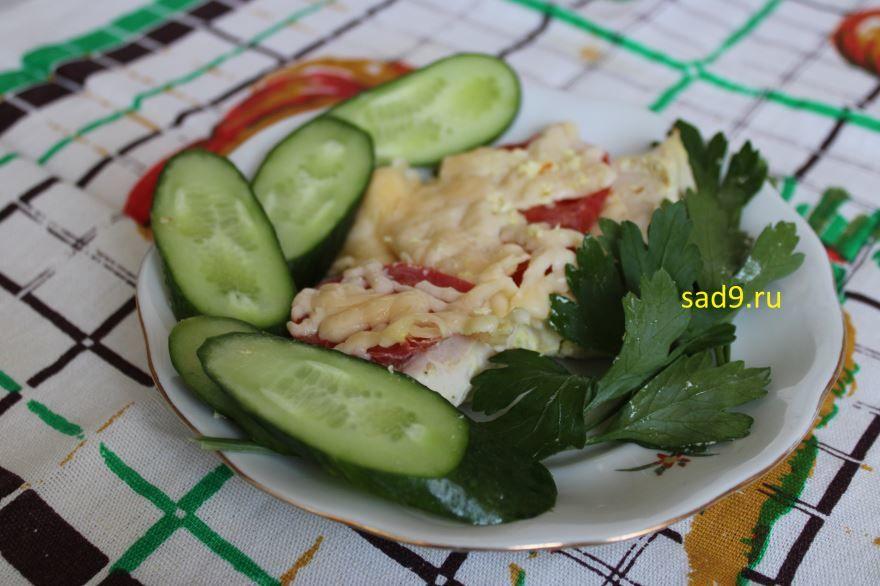 Рецепт курицы с помидорами