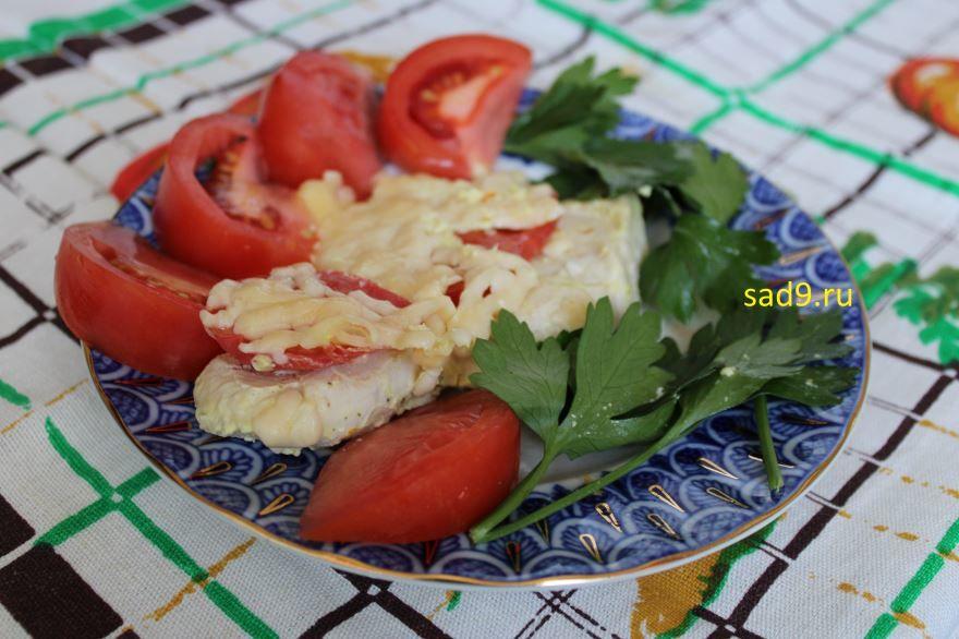 Филе курицы с помидорами, вкусный рецепт пошагово с фото