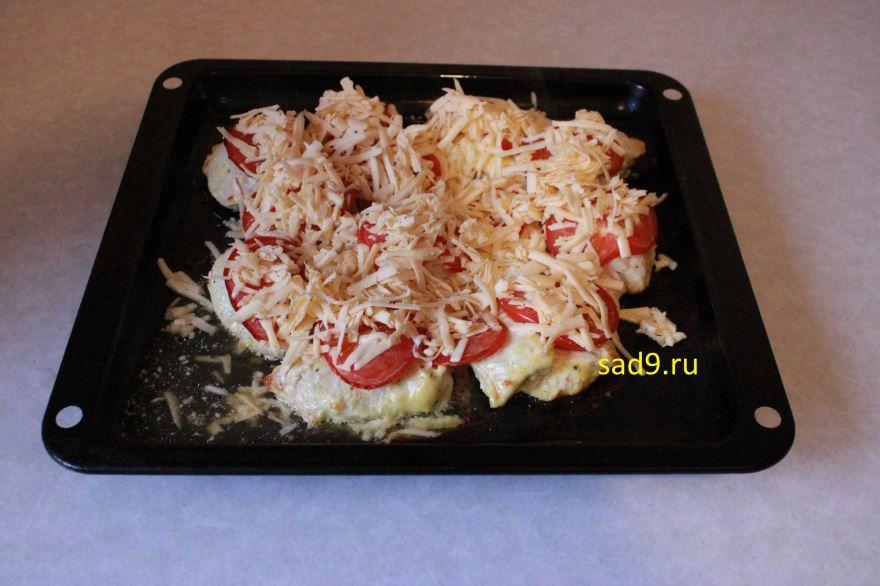 Курица с помидорами вкусный рецепт пошагово с фото