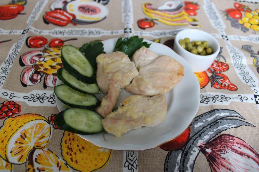 Рецепт домашней курицы в духовке, с фото
