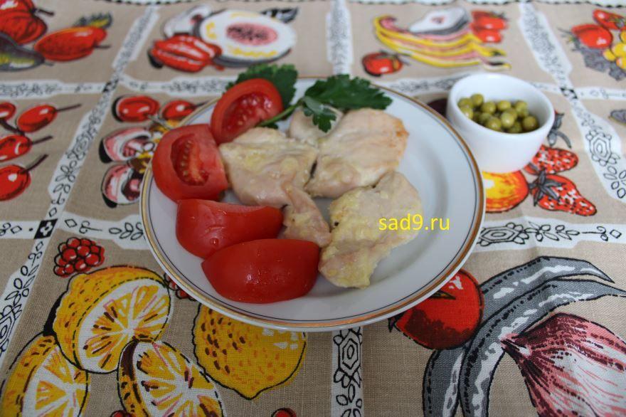 Домашняя курица, рецепт с фото пошагово
