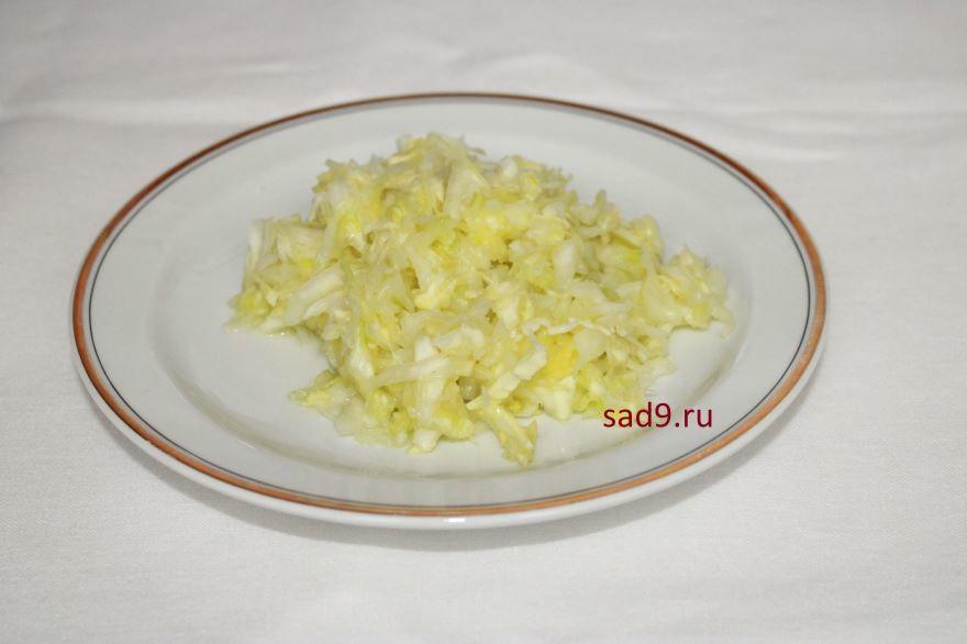 Рецепт салата из капусты с морковью, с фото пошагово