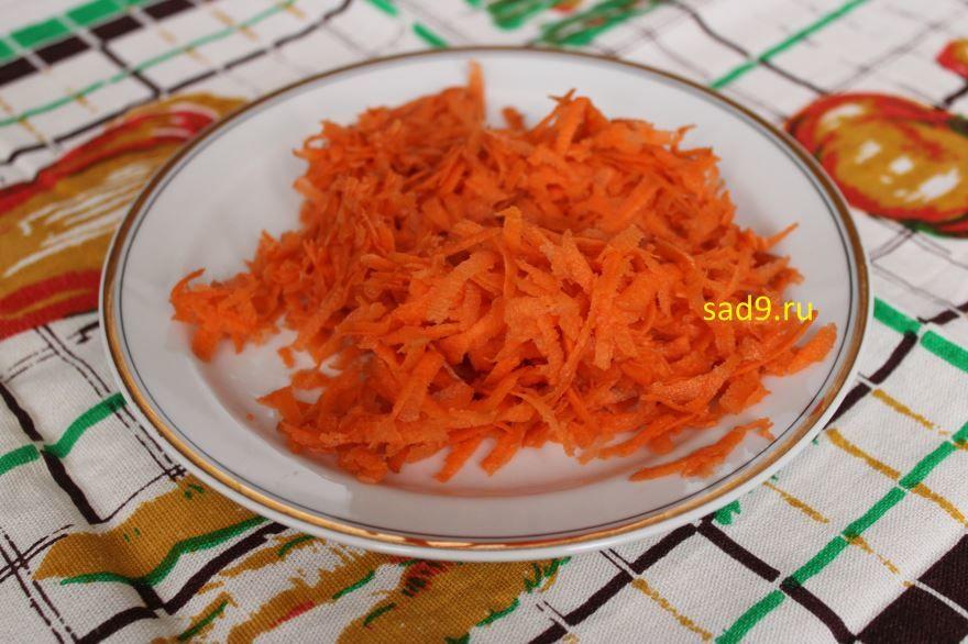 Салат из капусты с морковью, фото