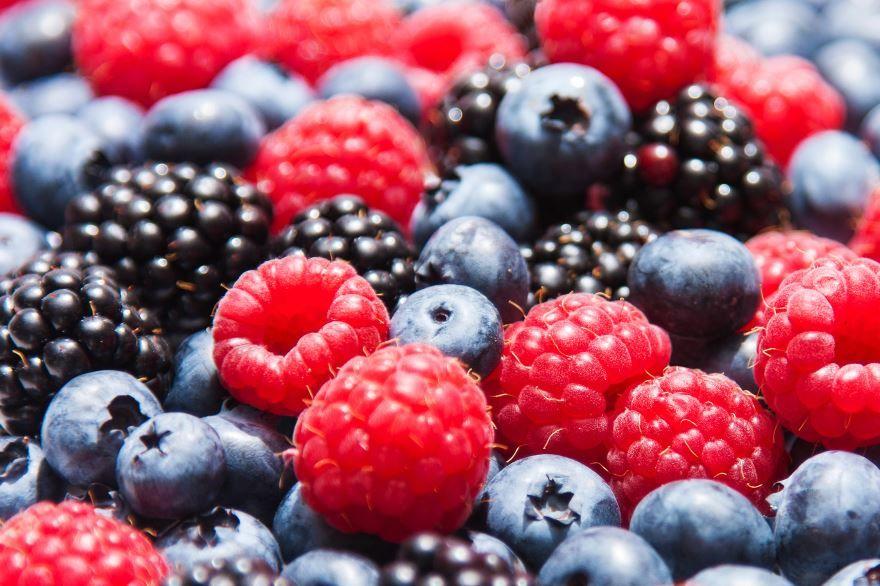 Собранные ягоды картинка