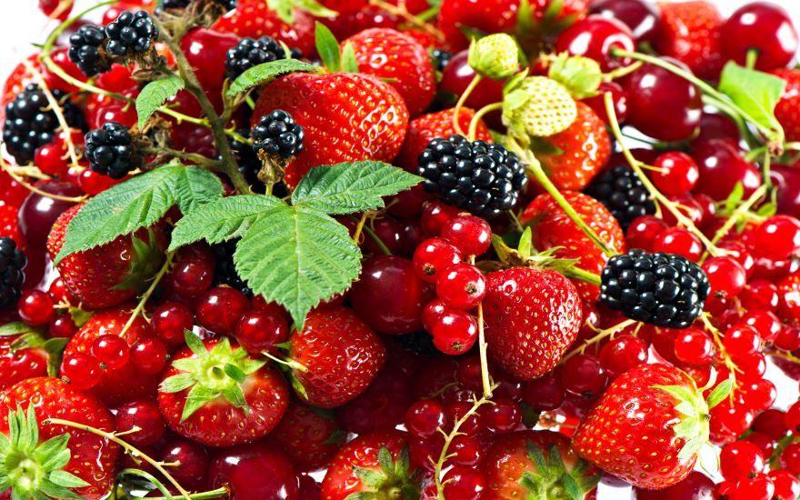 Скачать бесплатно картинку с ягодами