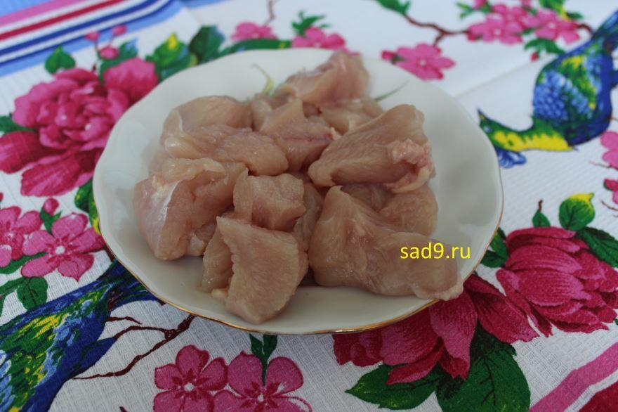 Куриные котлеты из кабачков, рецепт с фото