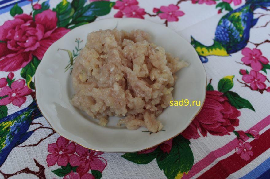 Котлеты из куриного филе с сыром