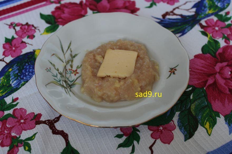 Куриные котлеты с сыром, рецепт с фото