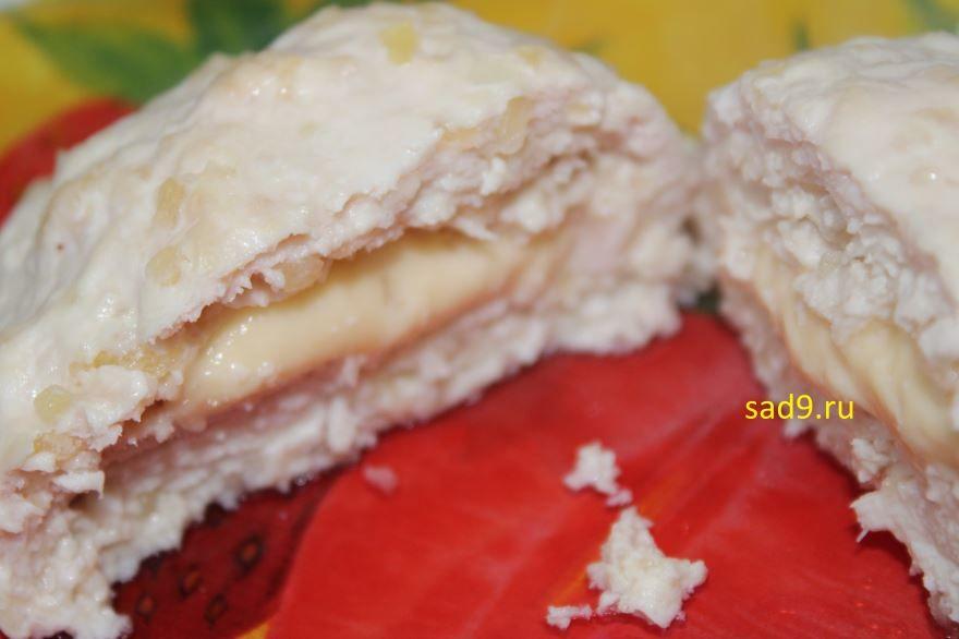 Куриные котлеты с сыром, рецепт с фото пошагово