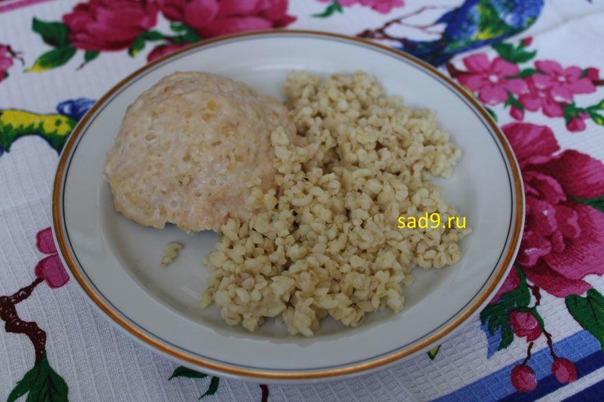 Котлеты куриные с сыром, с фото