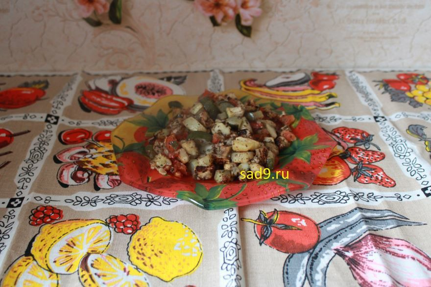 Овощи в духовке, рецепт с фото пошагово