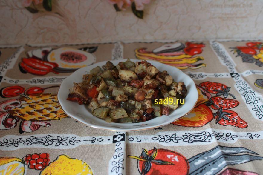 Запеченные овощи в духовке, вкусный и простой рецепт