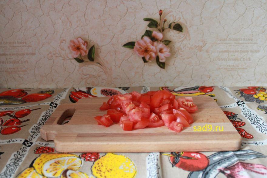 Запеченные овощи в духовке кусочками