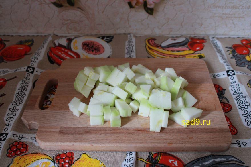 Овощи запеченные в духовке с фото