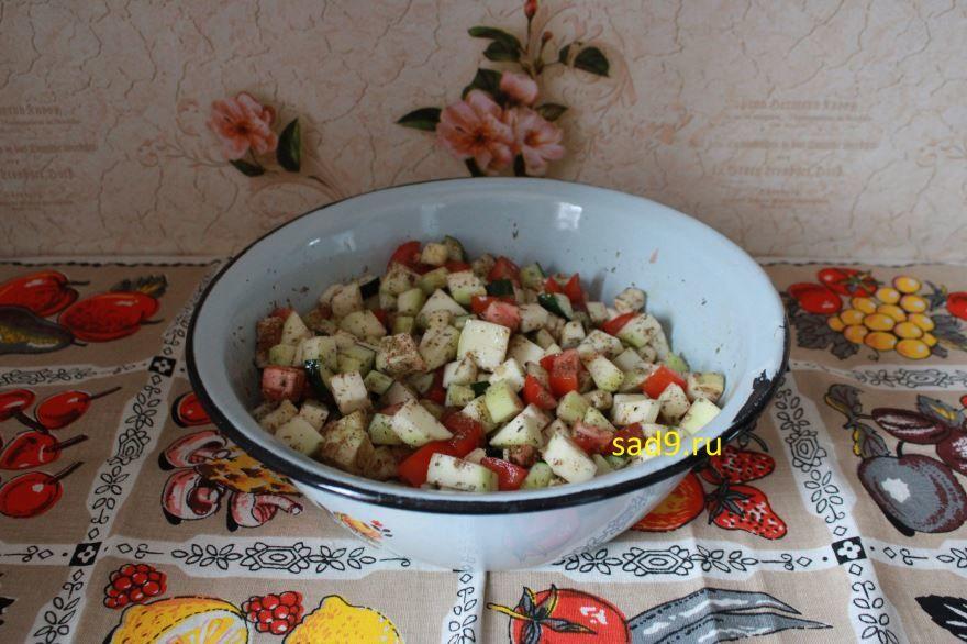 Вкусный рецепт овощей запеченных в духовке