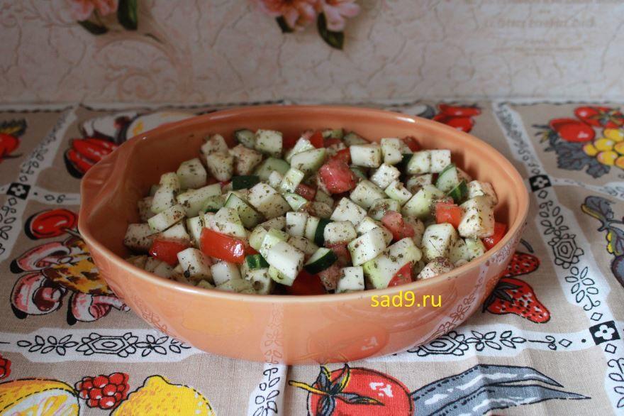 Простой рецепт запеченных овощей в духовке с фото