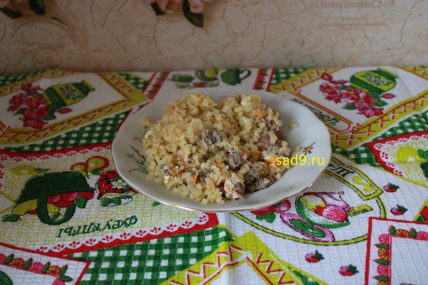 Вкусный, простой рецепт и способ приготовления второго блюда из фарша с булгуром