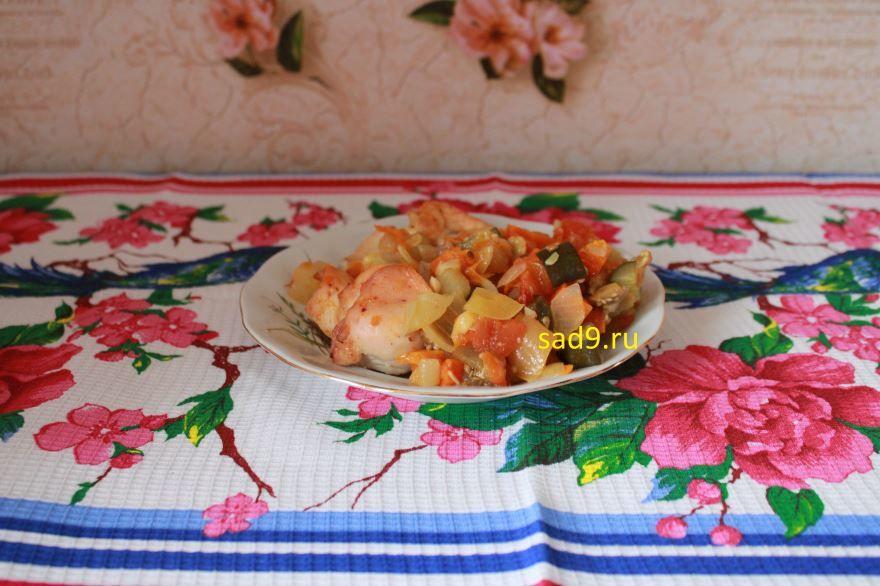 Куриное филе приготовленное в духовке пошагово с фото