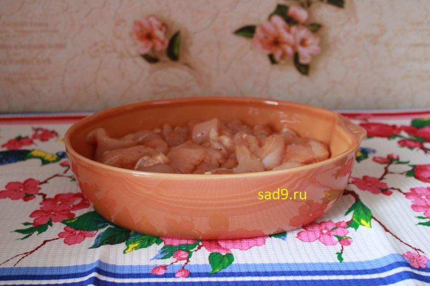 Вкусный рецепт куриного филе в духовке