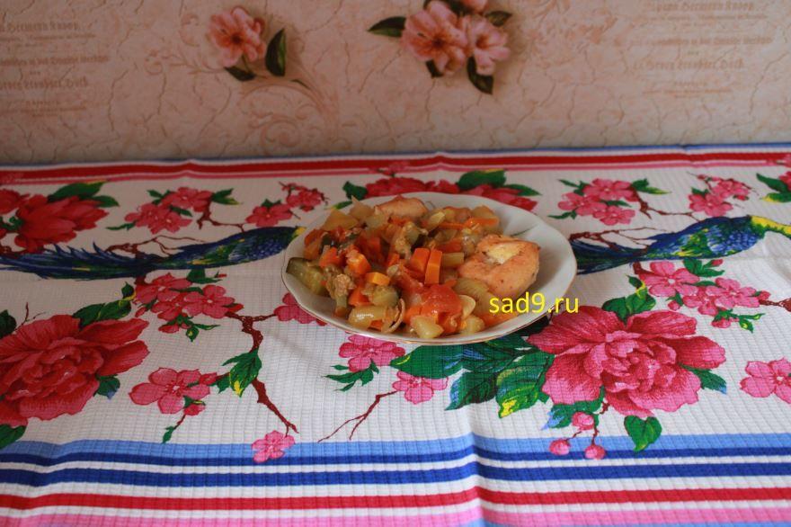 Простой рецепт приготовления курицы в духовке
