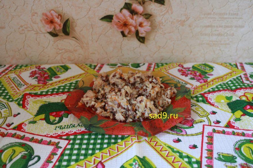 Курица с рисом вкусный и простой рецепт