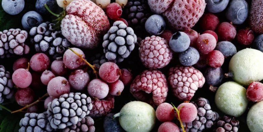 Замороженная ягода фото