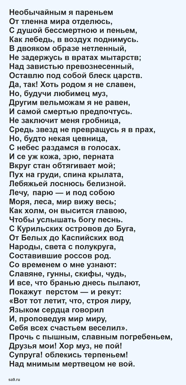 Стихи Державина - Лебедь
